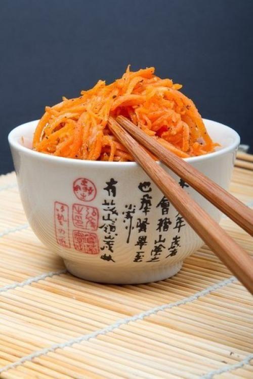 Морковь по-корейски. Этот сногсшибательный рецепт! | Шедевры кулинарии