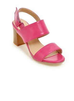 9bae09e33e6 Women s Pumps Sandals Chunky Heel Leatherette Shoes - Floryday   floryday .com