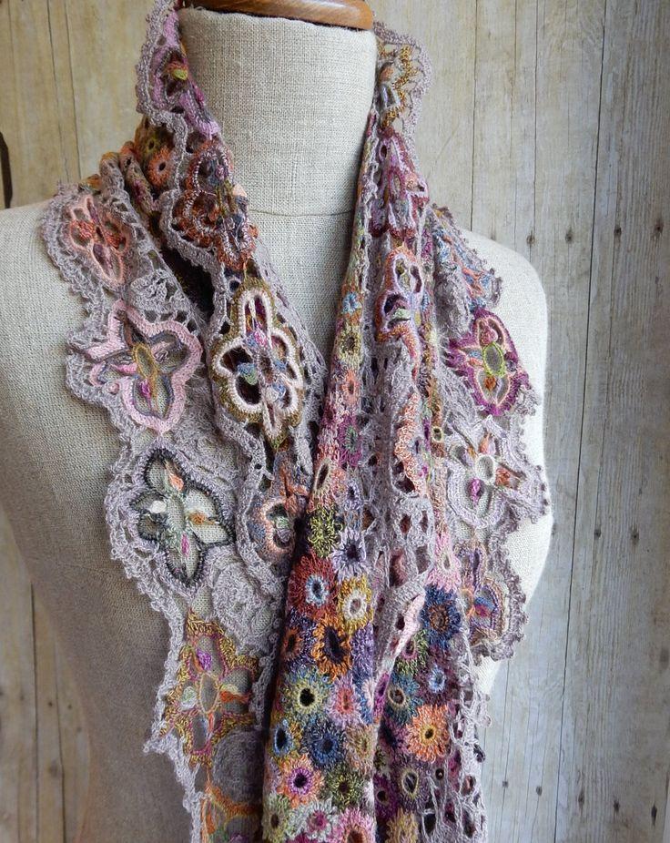"""""""seville"""" scarf frenchneedle.com"""