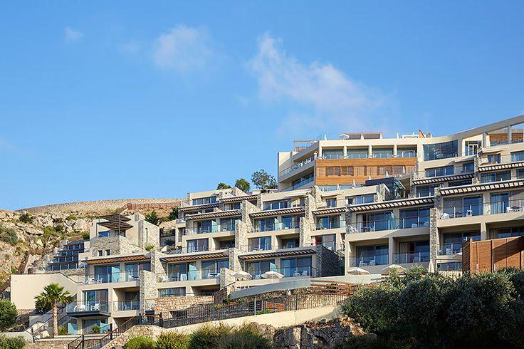 Luxury hotel in Rhodes Lindos Blu Hotel in Rhodes (Rhodos) island Greece