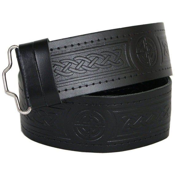 Without Belt Strap Men/'s New Celtic Kilt Scottish Belt Buckle