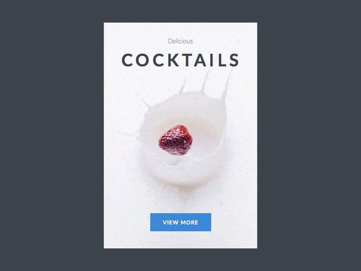 Cocktail Product View by Mateusz Dembek (Bydgoszcz, Poland)