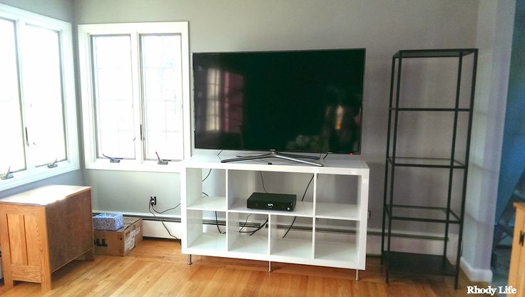 DIY: Expedit Hack - Wide Cubby and Legs