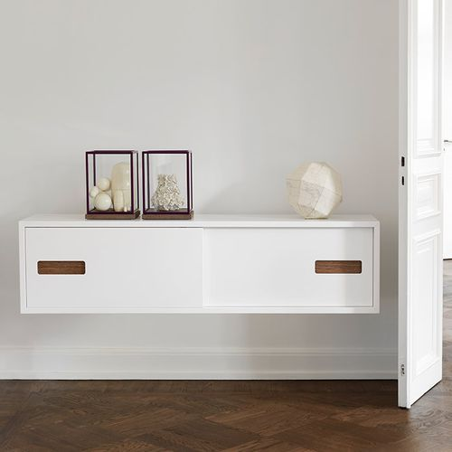 Wall-mounted sideboard / contemporary / oak / lacquered wood FUNK by Per Söderberg Asplund