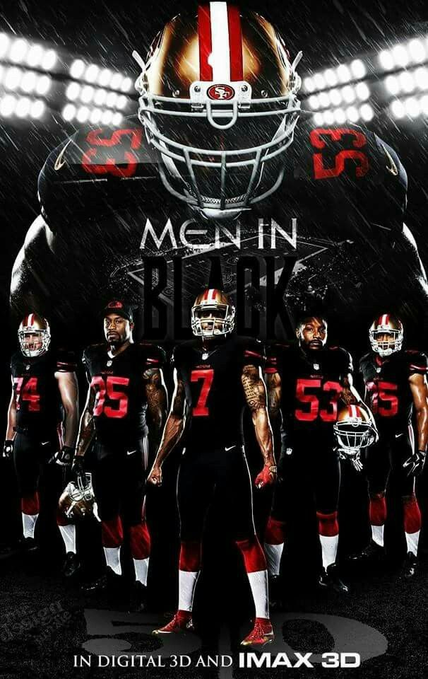 Top buy 49ers black Nike player jersey  for cheap