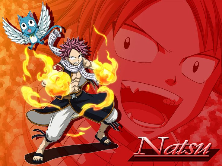 Fairy Tail Natsu Dragneel and Happy MangaGrounds - Read Fairy Tail Manga Online | Fairy Tail Forums