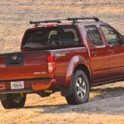 2013 Nissan Frontier Crew Cab Rear View