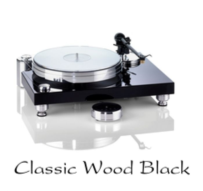 Classic Wood Black - High End Plattenspieler in exklusiven Designs vom Fachmann: Acoustic Solid