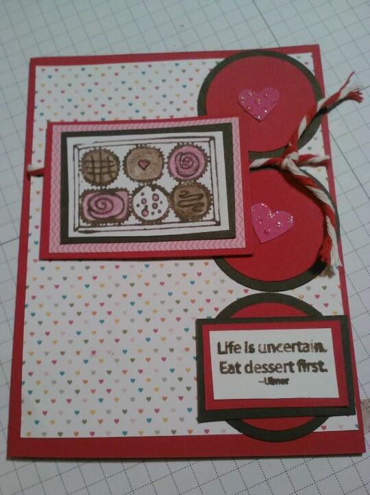 valentines handmade cards