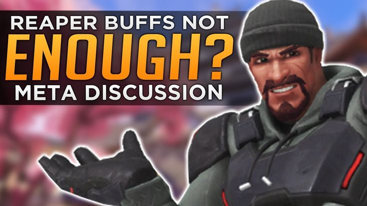 """Overwatch: McCree & Reaper Buffs Not Enough?! - Meta Discussion We've tested the PTR patch and are here to report our findings! Reaper got a """"change"""" not really a buff which has some complex interactions that are hard to pin down whether or not this makes Reaper better in this meta or just better for a specific playstyle (one that might not fit in this meta anyway). Roadhog's changes are quite controversial he loses his lethality in OHK hook combos but is more dexterous and actually more…"""