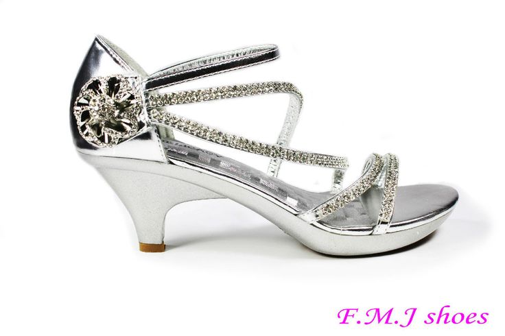 Silver Womens Dress Evening Shoes