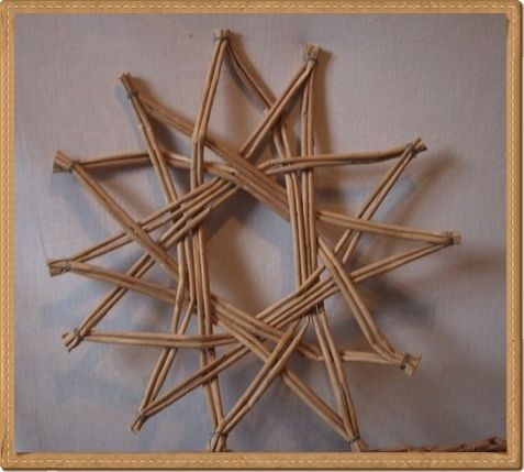Moje pletení z papíru - Fotoalbum - NÁVOD - NA NETRADIČNÍ PLETENÍ - NÁVOD - NA HVĚZDU