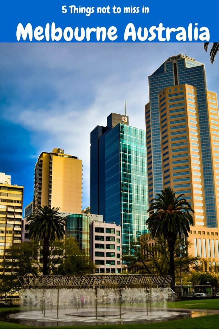 """Ava Gardner once famously said """"Melbourne is a great place to make a movie about the end of the world"""". It is fair to say Melbourne is now one the best cities in the world to life in and visit"""