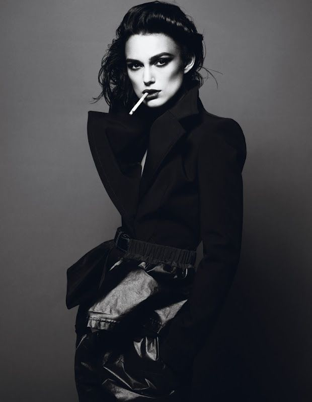 """Editorials: """"The dark side of Keira"""" - Keira Knightley by Mert and Marcus"""