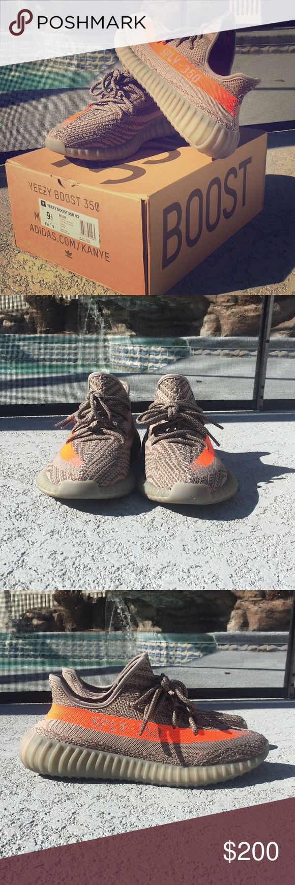 Yeezy Boost 350 V2 (Beluga) Gently Used.. Price reflects authenticity. adidas Shoes Sneakers