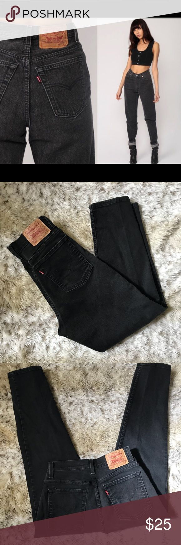 """1980s Vintage Levi's Mom Jeans Size 12 Brand- Levi's  Flawless and looks basically new esp to be vintage- 1980s high waisted mom jeans- Levi's size 12- back tab has NO fading- Levi's 550- inseam 31""""  Waist- 14""""  Rise- 10"""" From hip to hip straight across 19"""" red tab  Please keep in mind vintage runs small so check measurements- price is firm as these are mint condition and listed very cheap Levi's Jeans"""