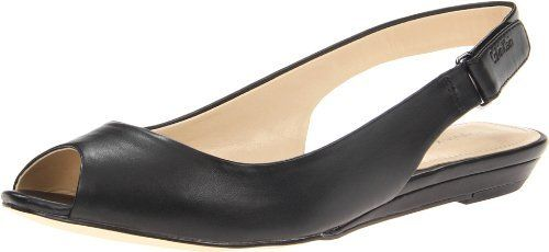 "Calvin Klein Women's Jaylin Ballet Flat Calvin Klein. $69.00. Manmade. Heel measures approximately 0.75"". Manmade sole. Made in China"