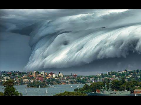 Fenomena Alam Aneh Awan Tsunami Di Sydney Australia, Mengerikan!! | Catatan Privacy Koe