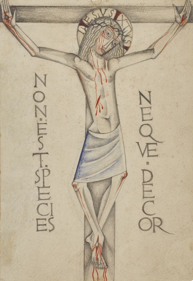 376 best arts images on pinterest art illustrations art jones david crucifixion work on paper sothebys l16148lot6nrscen buycottarizona Image collections