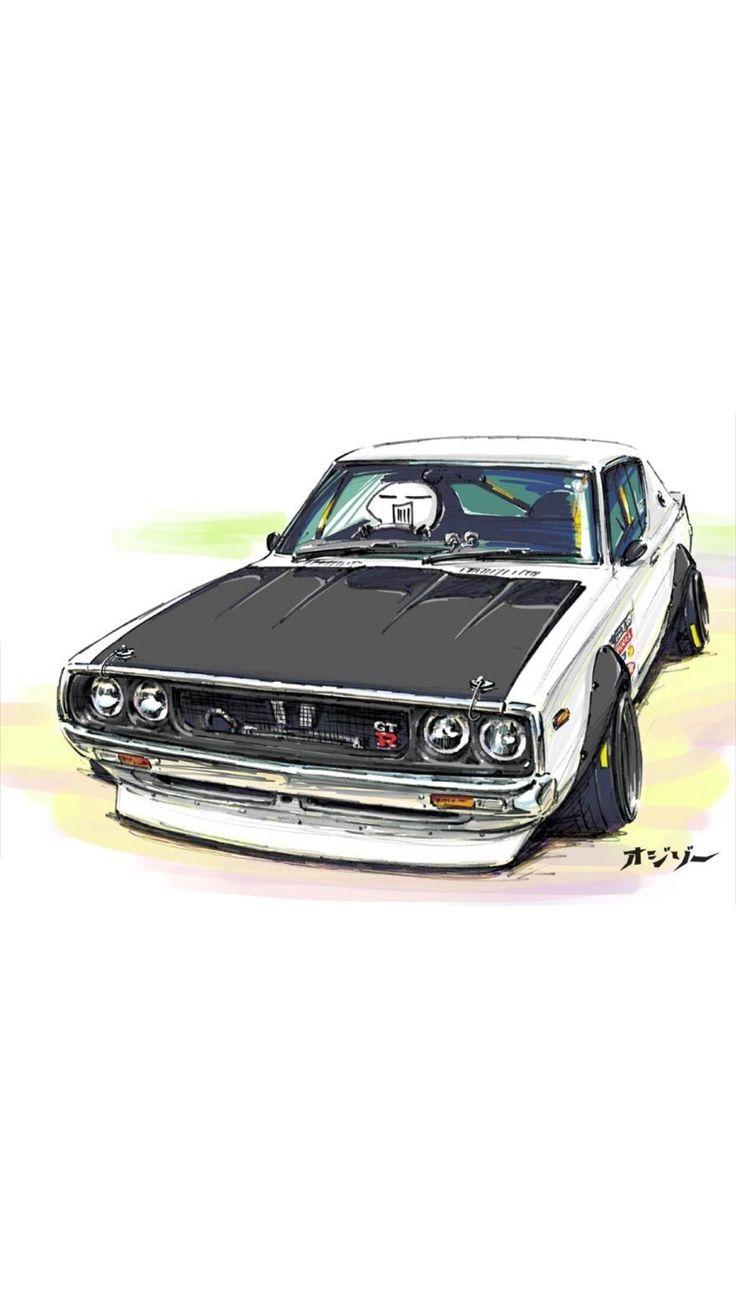 Art おしゃれまとめの人気アイデア Pinterest M O イラスト 車 日産