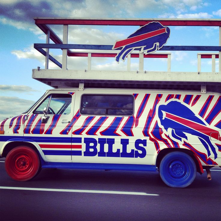 How'd you like to drive this to a Bills game? #LoyalFan