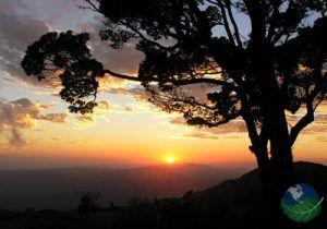La Amistad International Park sunset