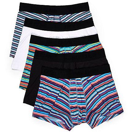 Blue stripe trunks pack £22.00