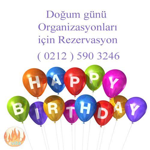 Doğum günü organizasyonlarınız için iletişim numaramız 0212 590 32 46  #evitamangalbaşı #restaurant #doğumgünü