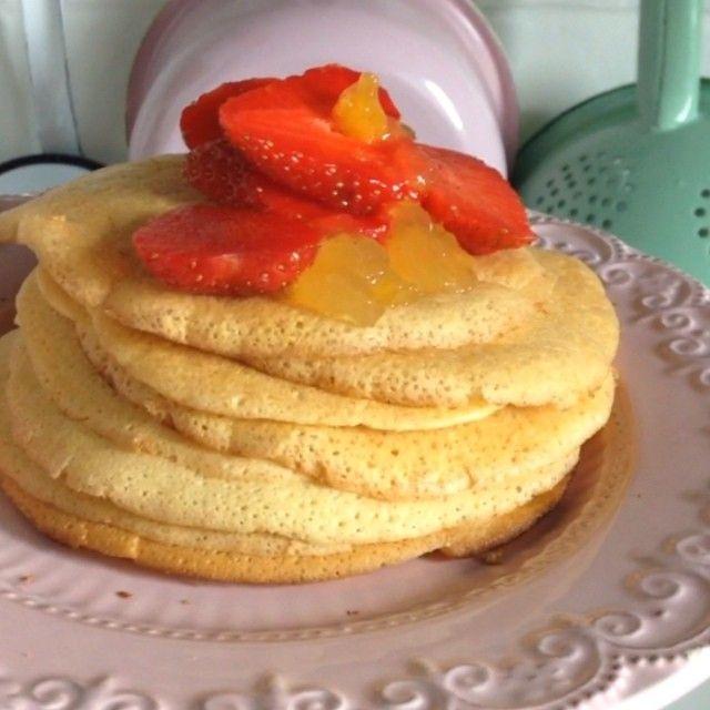 Na śniadanie jaglane naleśniki ;) chcecie dzisiaj przepis? ;) #food #mniam