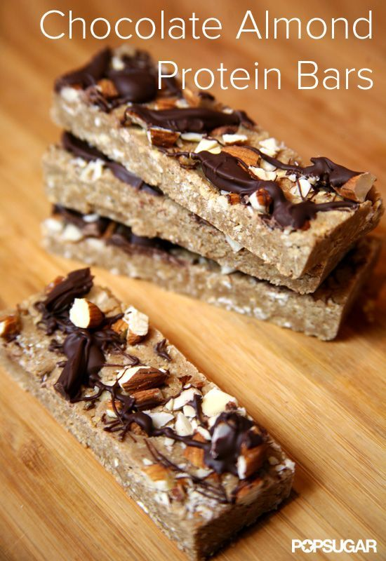 Chocolate Almond Protein Bars Youll Mistake For Dessert- these are definitely a winner (pictured)