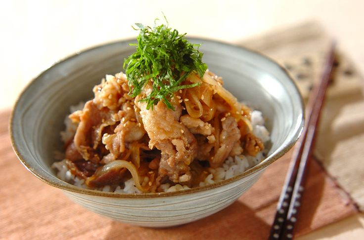 豚丼のレシピ・作り方 - 簡単プロの料理レシピ | E・レシピ