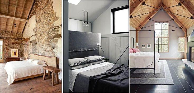 Rustic-industrial bedroom 1