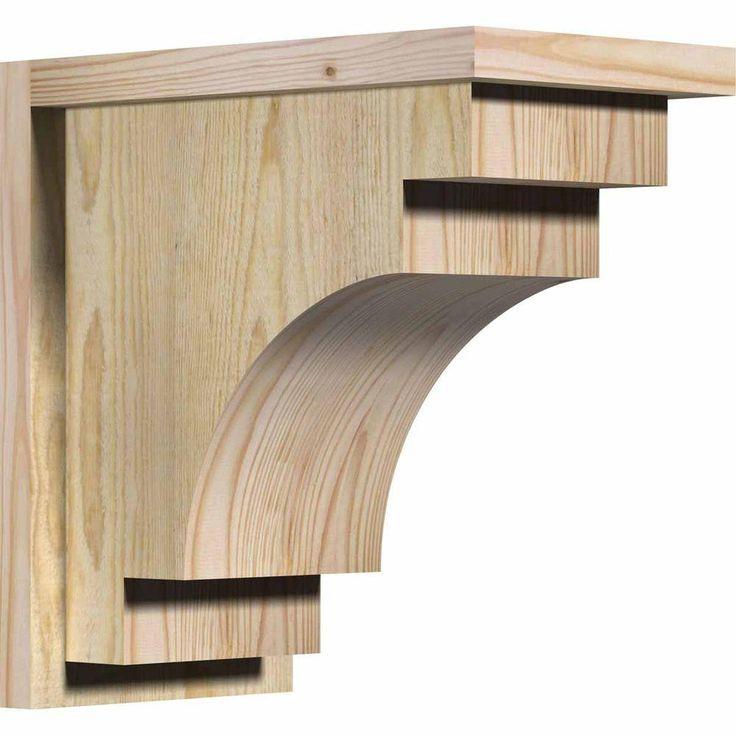 Best Ekena Millwork 8 In X 14 In X 14 In Douglas Fir 400 x 300