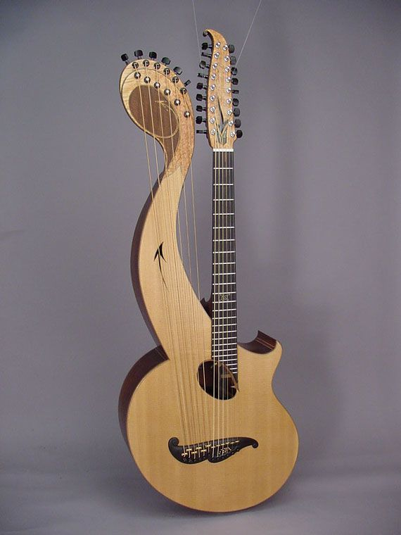 17 Best Images About Harp Guitar On Pinterest Hedges