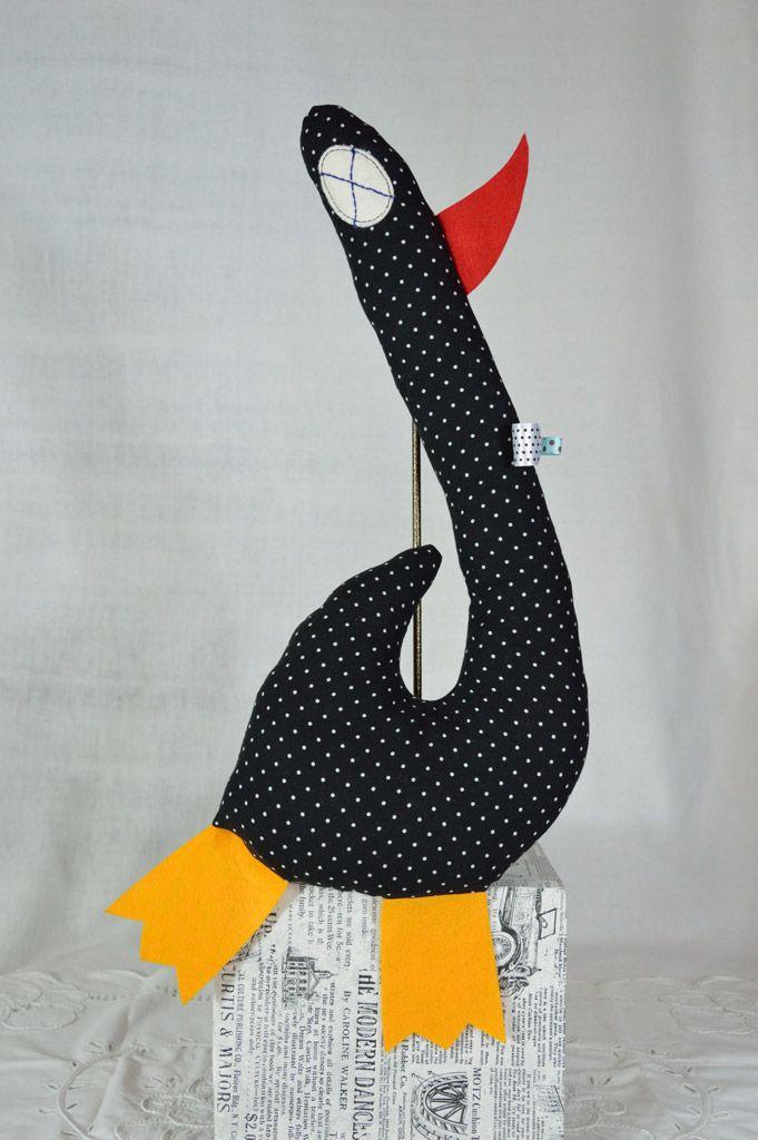 #wystrój  #rękodzieło  #ozdoby #handmade  #falbana.pl  #zwierzak #maskotka  #przytulanka  #gęś #gąska #ptak
