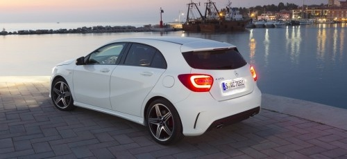 Kampfstern: Die neue Mercedes A-Klasse A250 Sport