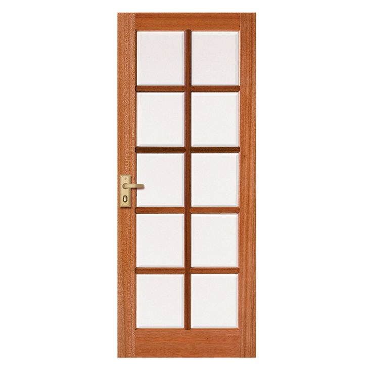 Corinthian 2040 x 820 x 40 Windsor Entrance Door With Clear Bevelled Glass