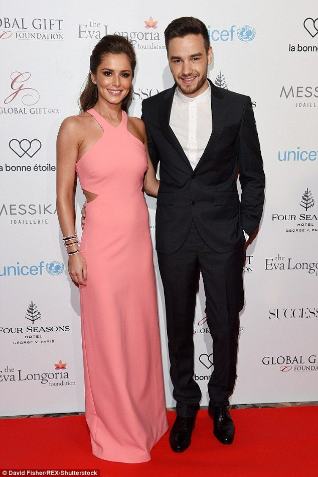 Red carpet debut as a couple:Cheryl and Liam Payne looked thrilled to be bringing their romance out into the spotlight, as they attended the Global Gift Gala at the Four Seasons Hotel in Paris together on Monday evening