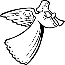 46 best angels images on pinterest christmas angels angels and angel rh pinterest com guardian angel clipart black and white angel outline clipart black and white