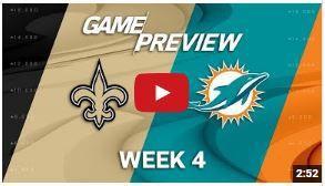New Orleans Saints vs Miami Dolphins live | Saints vs Dolphins live stream