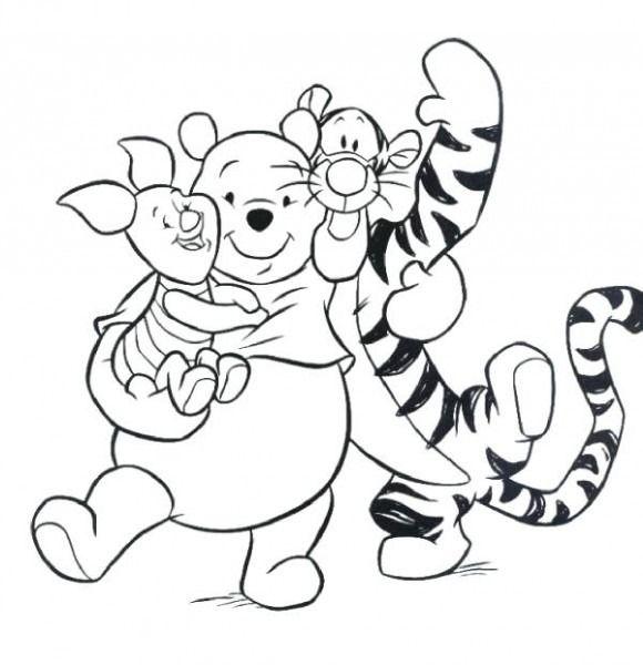 Imagenes De Winnie Pooh Y Sus Amigos Bebes Para Colorear Libro De Colores Halloween Para Colorear Imagenes De Winnie Pooh