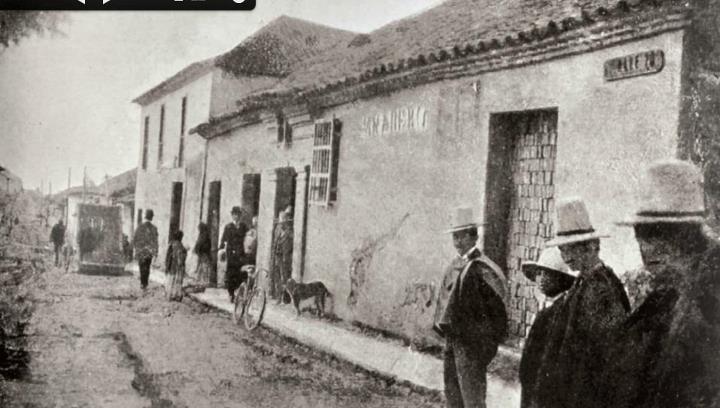 1888, Casa del Camellón de las Nieves cerca de la calle 20 - Bogotá, Colombia