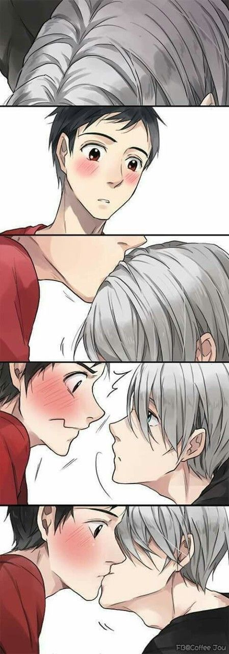 Imagen de anime, yaoi, and kiss