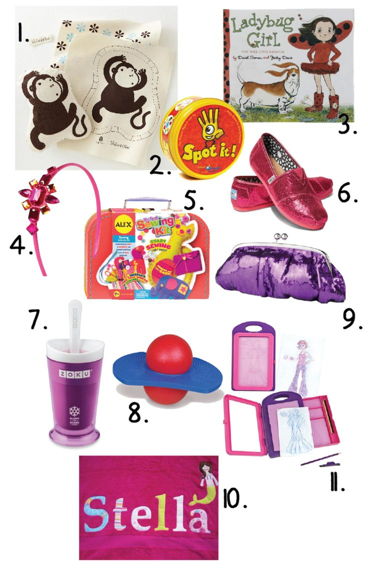 Great Ideas For Little Girls Birthday Gifts 5-7 Years Old -3220