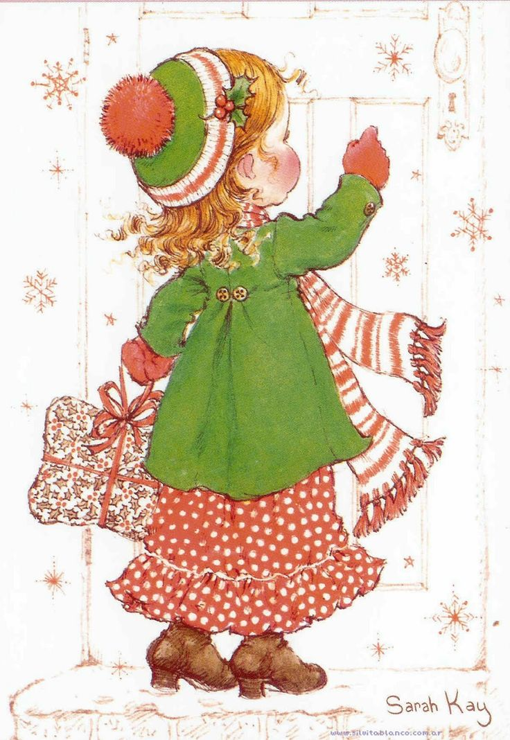 Visita en navidad   Sarah Kay
