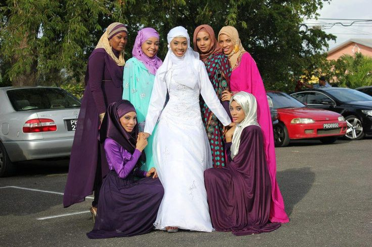 georgetowngman:  Beautiful Muslim women from the Caribbean. Have you seen anything so beautiful!  Lovely. ❤