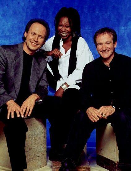 Billy Cristal, Whoopi Goldberg & Robin Williams