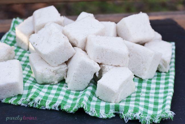 how to make {sugar-free} vanilla marshmallows