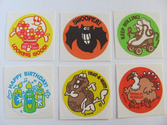 I remember having these in my sticker collection