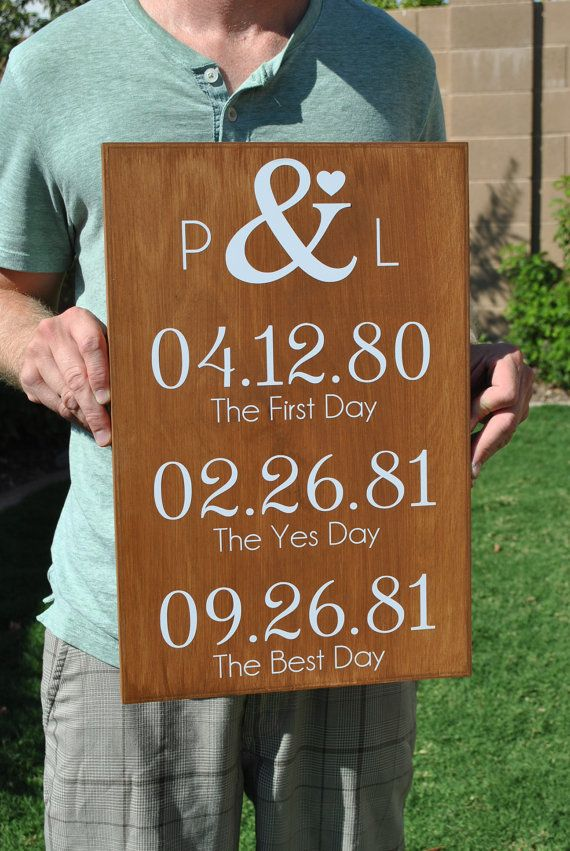 Rustic Five Year Anniversary gift for by SignsToLiveBy on Etsy